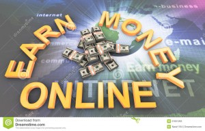 why earn money online?