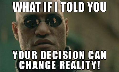 decisions my road to financial freedom