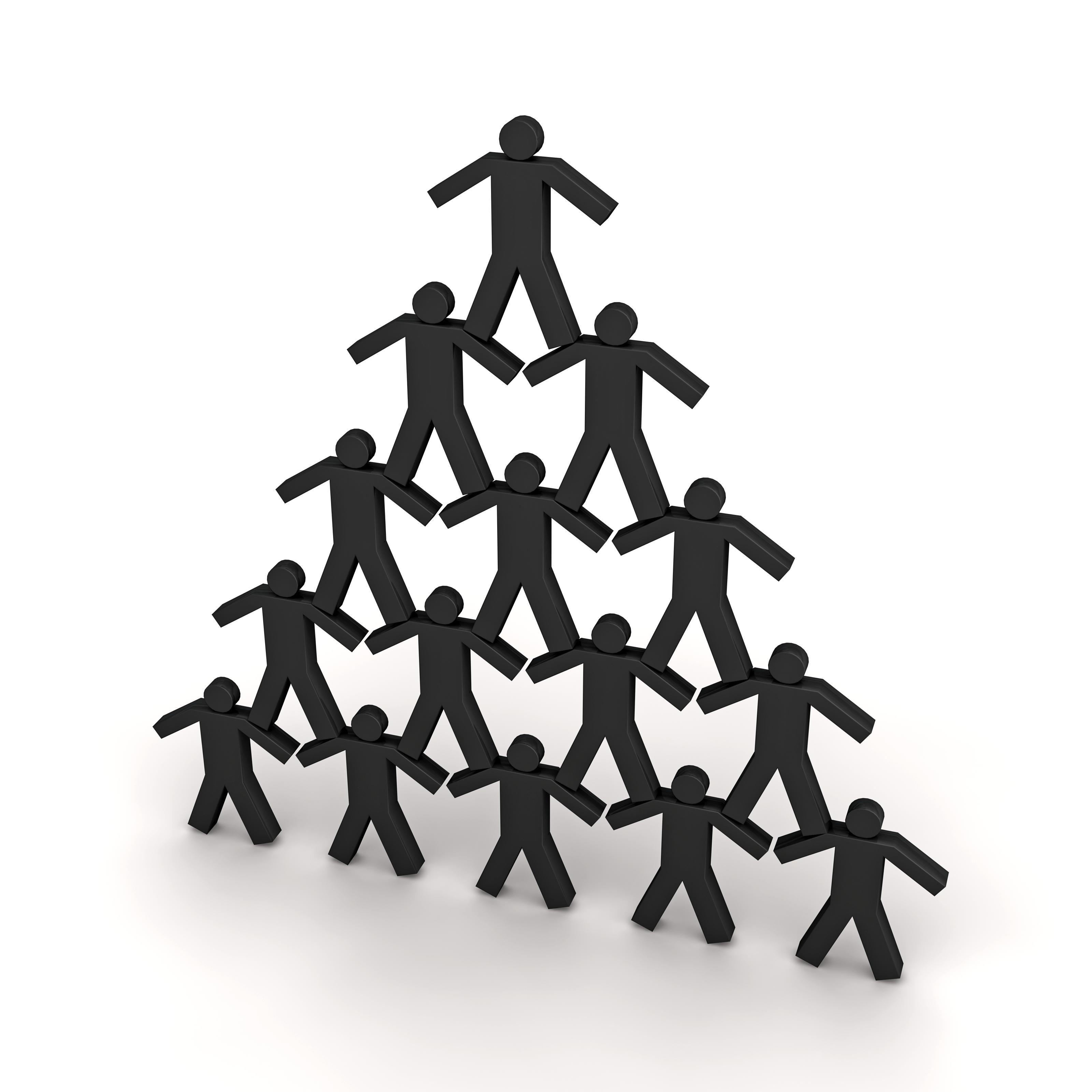 person pyramid